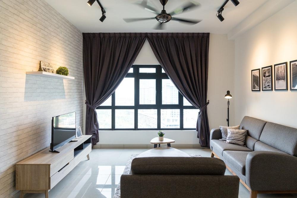 Een minimalistische inrichting voor uw woonkame